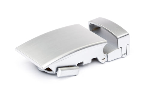 "1.25"" Classic Buckle in Silver - Anson Belt & Buckle"