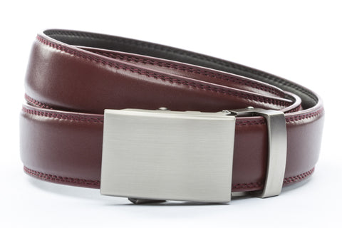 1-25-quot-classic-buckle-in-gunmetal 1-25-quot-cordova-leather-strap