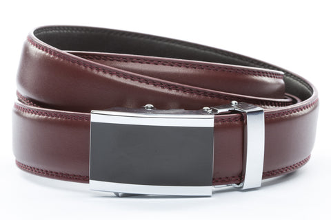 1-25-quot-onyx-buckle 1-25-quot-cordova-leather-strap