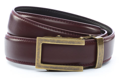 1-25-quot-traditional-buckle-in-antiqued-gold 1-25-quot-cordova-leather-strap
