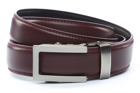 1-25-quot-traditional-buckle-in-gunmetal 1-25-quot-cordova-leather-strap