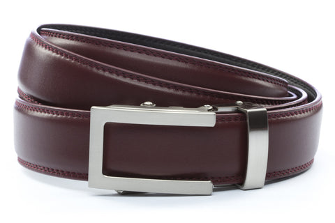1-25-quot-traditional-buckle-in-silver 1-25-quot-cordova-leather-strap
