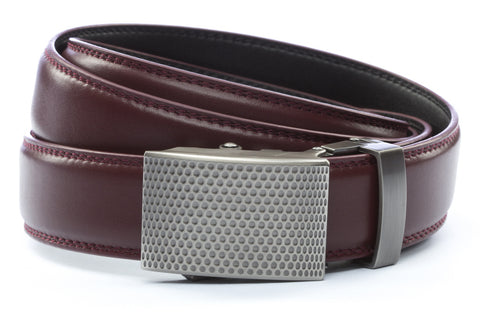 1-25-quot-anson-golf-buckle-in-gunmetal 1-25-quot-cordova-leather-strap