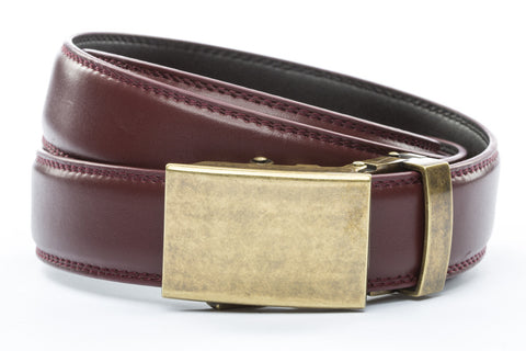 1-25-quot-classic-buckle-in-antiqued-gold 1-25-quot-cordova-leather-strap
