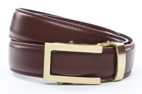 1-25-quot-traditional-buckle-in-gold 1-25-quot-cordova-leather-strap