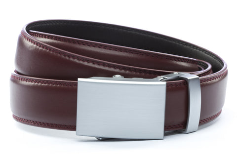 1-25-quot-classic-buckle-in-silver 1-25-quot-cordova-leather-strap
