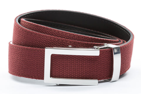 1-25-quot-nickel-free-traditional-buckle 1-25-quot-crimson-canvas-strap
