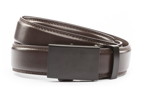 1-25-quot-classic-buckle-in-black 1-25-quot-dark-brown-leather-strap