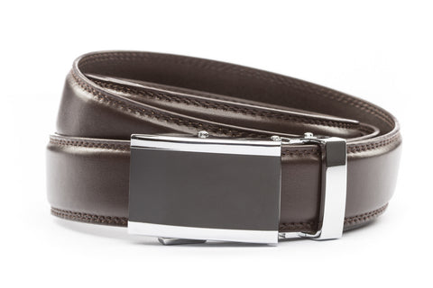 1-25-quot-onyx-buckle 1-25-quot-dark-brown-leather-strap