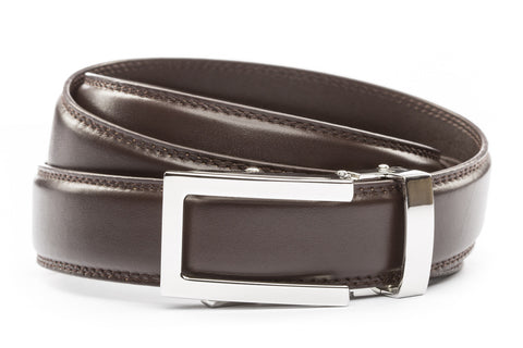 1-25-quot-nickel-free-traditional-buckle 1-25-quot-dark-brown-leather-strap