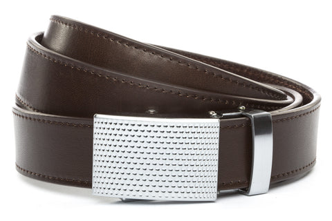 1-25-quot-anson-golf-buckle-in-silver 1-25-quot-espresso-vegetable-tanned-leather-strap