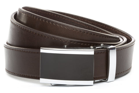 1-25-quot-onyx-buckle 1-25-quot-espresso-vegetable-tanned-leather-strap