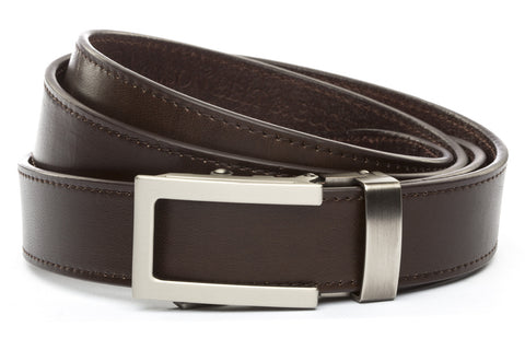 1-25-quot-traditional-buckle-in-gunmetal 1-25-quot-espresso-vegetable-tanned-leather-strap