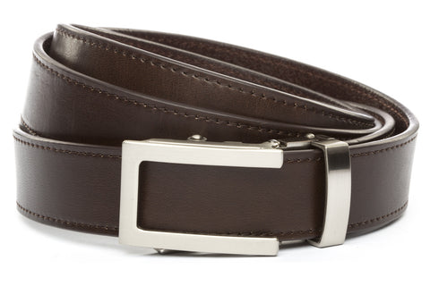 1-25-quot-traditional-buckle-in-silver 1-25-espresso-vegetable-tanned-leather