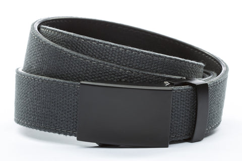 1-25-quot-classic-buckle-in-black 1-25-quot-graphite-canvas-strap