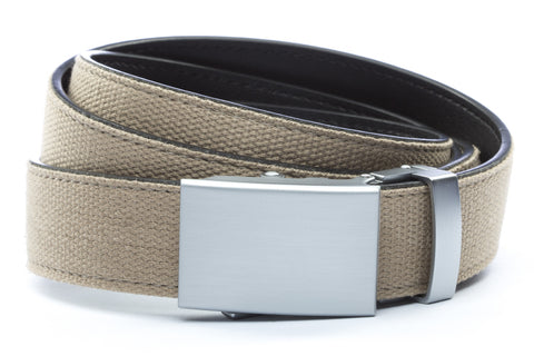 1-25-quot-classic-buckle-in-silver 1-25-quot-khaki-canvas-strap