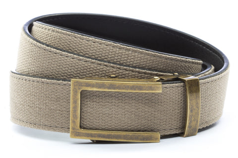 1-25-quot-traditional-buckle-in-antiqued-gold 1-25-quot-khaki-canvas-strap