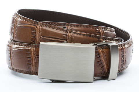 1-25-quot-classic-buckle-in-gunmetal 1-25-quot-light-brown-faux-croc-strap