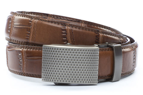 1-25-quot-anson-golf-buckle-in-gunmetal 1-25-quot-light-brown-faux-croc-strap