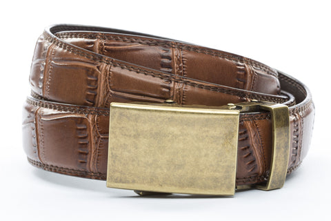 1-25-quot-classic-buckle-in-antiqued-gold 1-25-quot-light-brown-faux-croc-strap