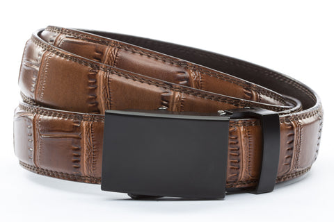 1-25-quot-classic-buckle-in-black 1-25-quot-light-brown-faux-croc-strap