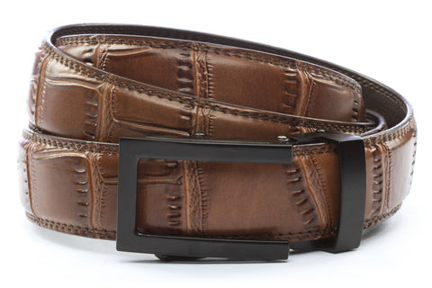 1-25-quot-traditional-buckle-in-black 1-25-quot-light-brown-faux-croc-strap