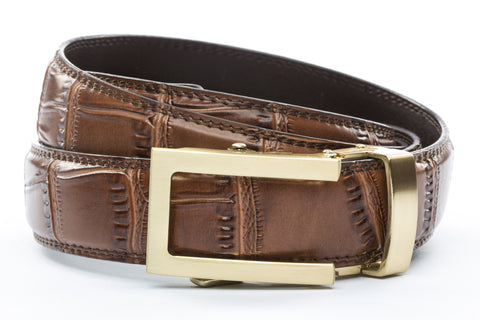 1-25-quot-traditional-buckle-in-gold 1-25-quot-light-brown-faux-croc-strap