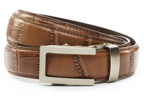 1-25-quot-traditional-buckle-in-gunmetal 1-25-quot-light-brown-faux-croc-strap