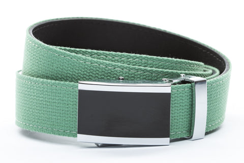 1-25-quot-onyx-buckle 1-25-quot-lime-canvas-strap