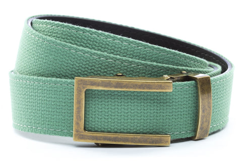 1-25-quot-traditional-buckle-in-antiqued-gold 1-25-quot-lime-canvas-strap