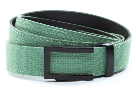 1-25-quot-traditional-buckle-in-black 1-25-quot-lime-canvas-strap