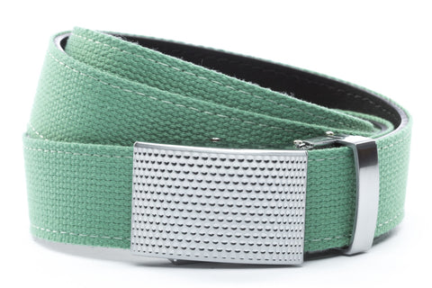 1-25-quot-anson-golf-buckle-in-silver 1-25-quot-lime-canvas-strap