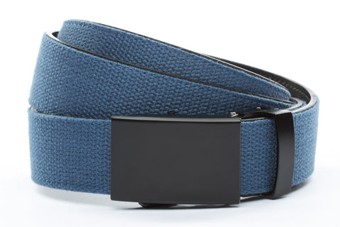 1-25-quot-classic-buckle-in-black 1-25-quot-marine-blue-canvas-strap