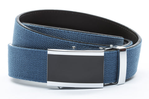 1-25-quot-onyx-buckle 1-25-quot-marine-blue-canvas-strap