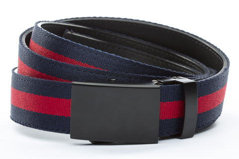 1-25-quot-classic-buckle-in-black 1-25-quot-navy-red-stripe-cloth-strap