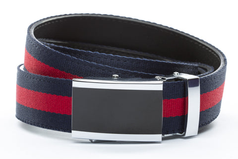 1-25-quot-onyx-buckle 1-25-quot-navy-red-stripe-cloth-strap