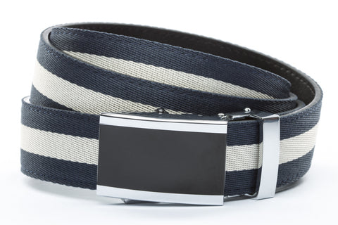1-25-quot-onyx-buckle 1-25-quot-navy-white-stripe-cloth-strap