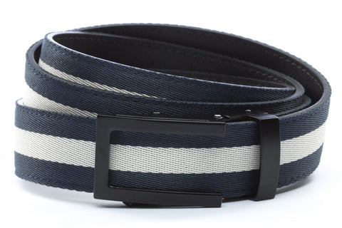 1-25-quot-traditional-buckle-in-black 1-25-quot-navy-white-stripe-cloth-strap