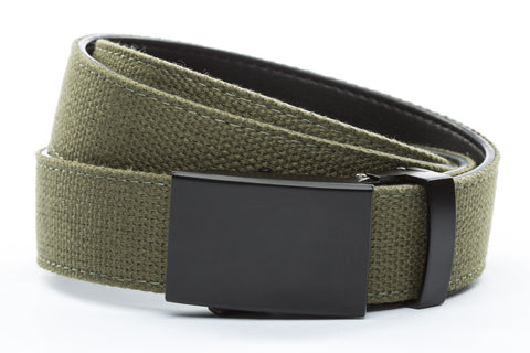 1-25-quot-classic-buckle-in-black 1-25-quot-olive-drab-canvas-strap