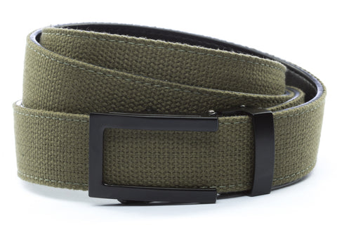 1-25-quot-traditional-buckle-in-black 1-25-quot-olive-drab-canvas-strap