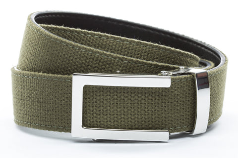 1-25-quot-nickel-free-traditional-buckle 1-25-quot-olive-drab-canvas-strap
