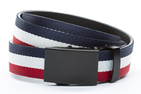 1-25-quot-classic-buckle-in-black 1-25-quot-red-white-blue-cloth-strap
