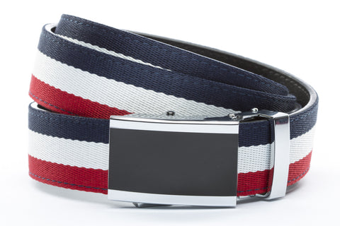 1-25-quot-onyx-buckle 1-25-quot-red-white-blue-cloth-strap