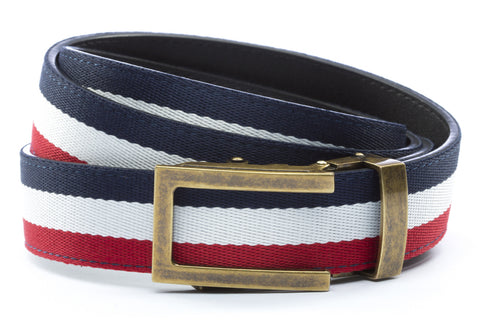1-25-quot-traditional-buckle-in-antiqued-gold 1-25-quot-red-white-blue-cloth-strap