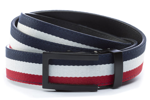 1-25-quot-traditional-buckle-in-black 1-25-quot-red-white-blue-cloth-strap