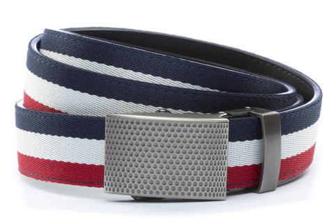 1-25-quot-anson-golf-buckle-in-gunmetal 1-25-quot-red-white-blue-cloth-strap