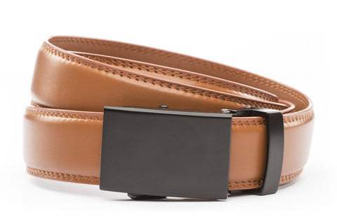 1-25-quot-classic-buckle-in-black 1-25-quot-saddle-tan-leather-strap