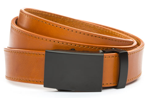 1-25-quot-classic-buckle-in-black 1-25-quot-saddle-tan-vegetable-tanned-leather-strap