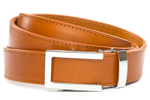 1-25-quot-nickel-free-traditional-buckle 1-25-quot-saddle-tan-vegetable-tanned-leather-strap