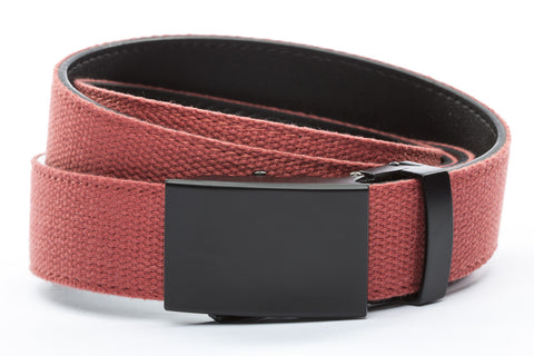 1-25-quot-classic-buckle-in-black 1-25-quot-salmon-canvas-strap